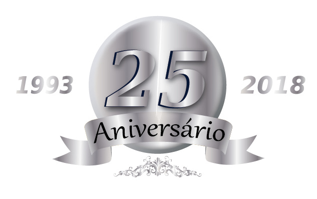 Logotipo 25º Aniversário Euroindy 2018