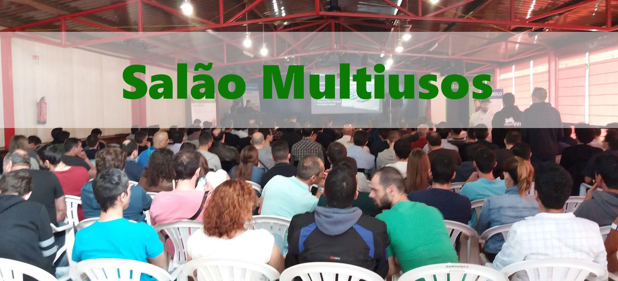 Salão multiuso Euroindy