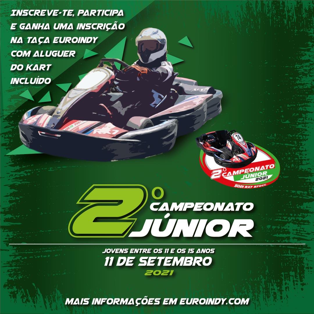 2º campeonato júnior 2021 - 1prova