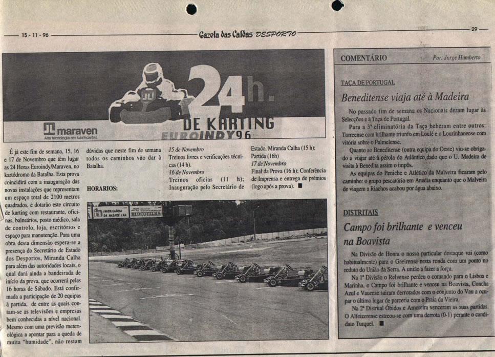 24 Horas da Batalha 1996