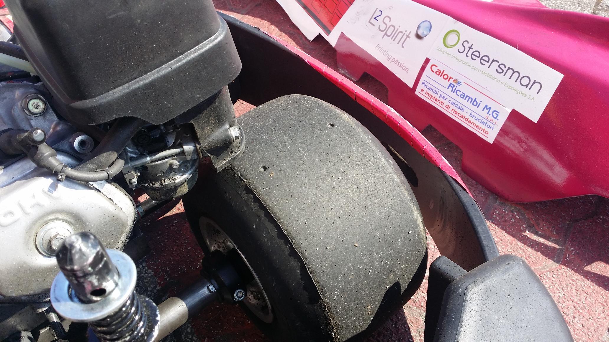 No final os karts e os pneus ficaram assim0
