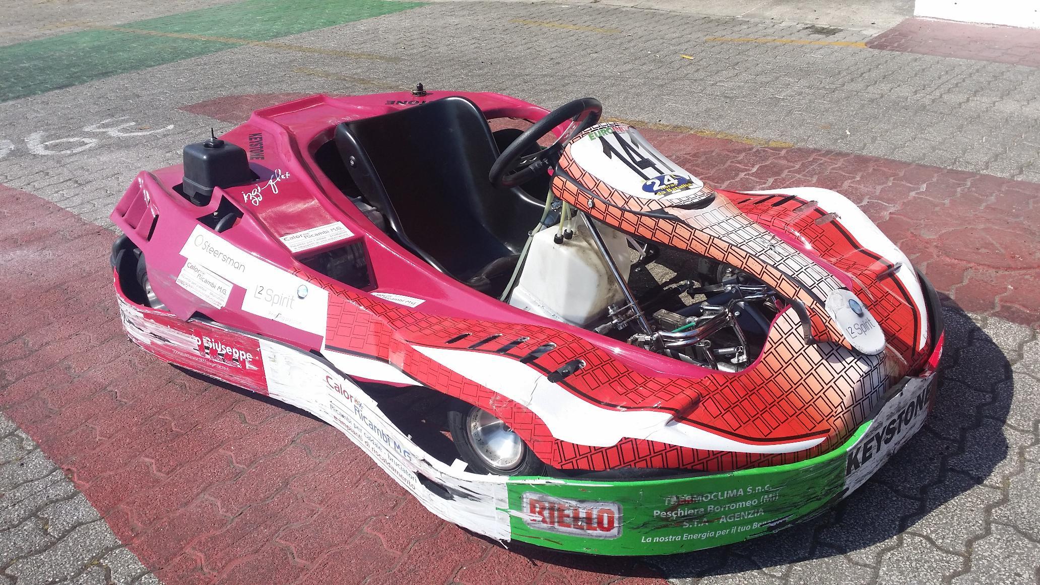 No final os karts e os pneus ficaram assim11