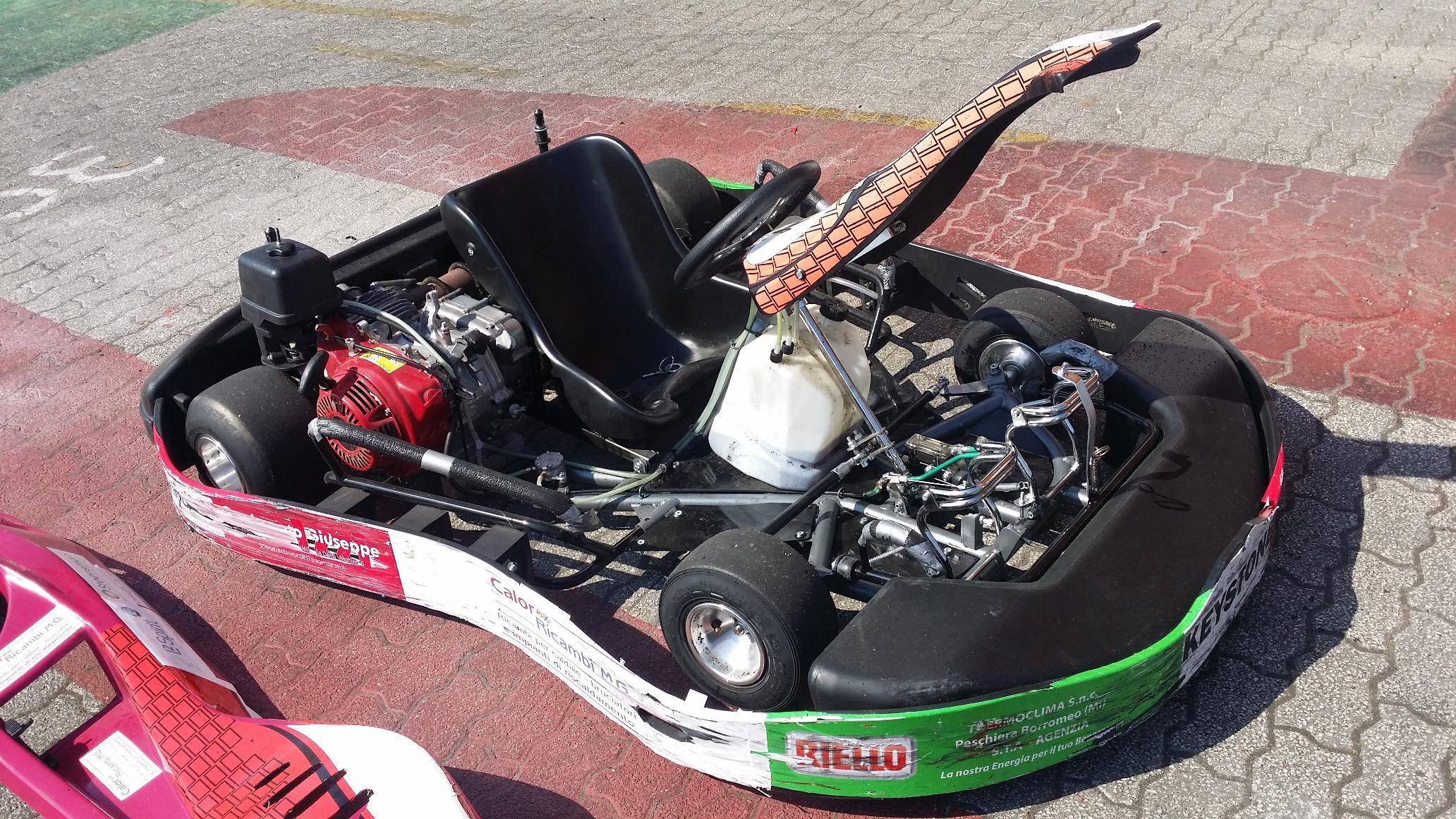 No final os karts e os pneus ficaram assim17