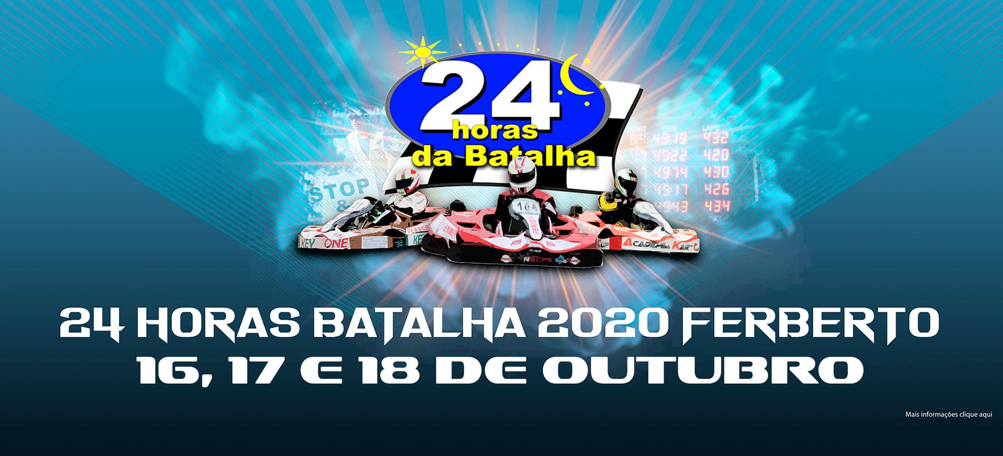Reportagem Oficial 23ª Edição 24Horas da Batalha 2020