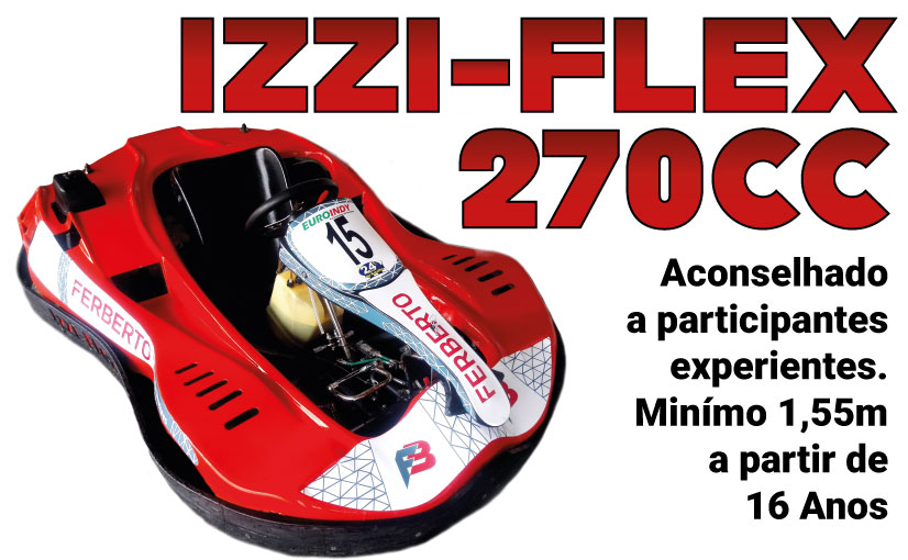 IZZI-FLEX Kart 270cc